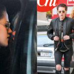 Kristen Stewart, Sapphic kiss with the new girlfriend Stella Maxwell