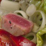 Mediterranean diet: scheme and examples of a balanced diet