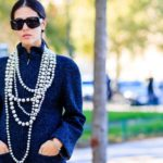 Pearls, here's how to make them modern and stylish