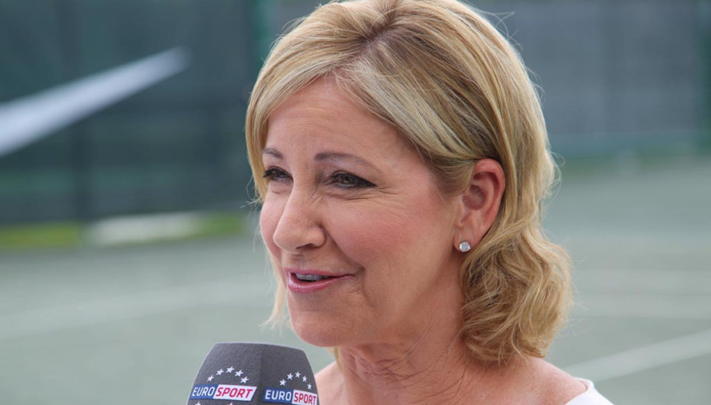 The menopause of tennis player Chris Evert destroyed his marriage