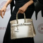 The most expensive bag in the world at auction: a Birkin crocodile and diamonds