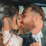 The wedding of Lorella Boccia and Niccolò Presta. Paola Perego is absent, he is yellow
