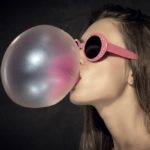 What happens if you swallow the chewing gum?