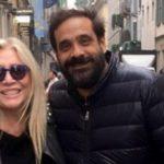 Who is Paolo Capponi, the son of Mara Venier