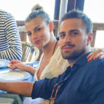 Emma and Borriello: first social photo at the sea together