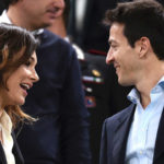 Alena's revenge: at the stadium for Buffon, but with her boyfriend