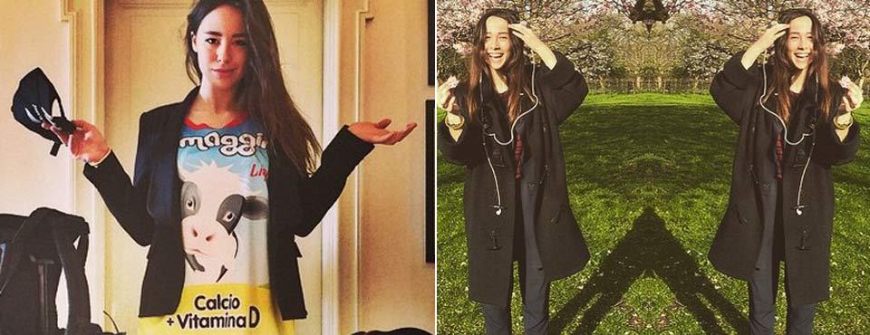 Aurora Ramazzotti, travel to London before the transfer