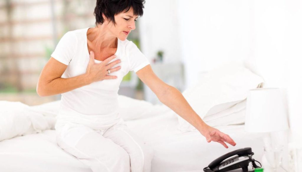Cardiac risks in women are more dangerous. Here because