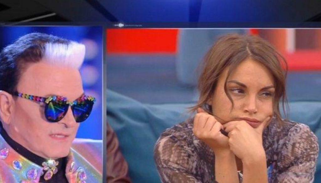 """GF, furious quarrel between De André and Malgioglio: """"You are crazy, you have to go out"""""""