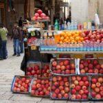 January: seasonal fruit and vegetables