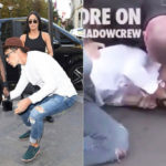 Kim Kardashian attacked on the street: attack on side B
