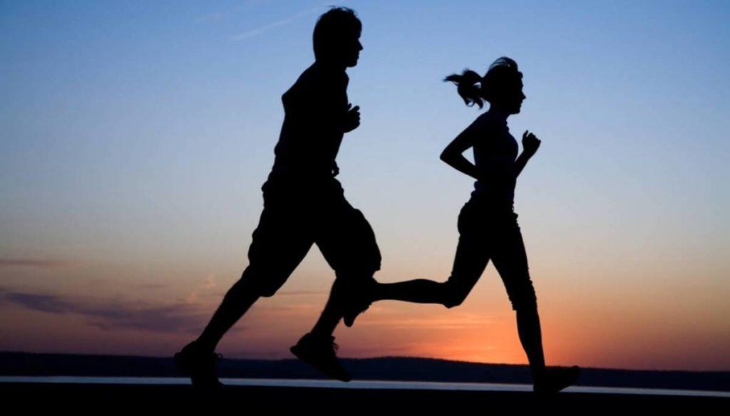 Running, running: the benefits for the skin