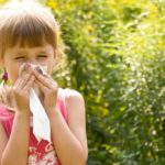 Spring allergies: here's how to protect the little ones