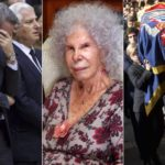 Funeral of the Duchess of Alba: her husband's tears, her grandchildren moved