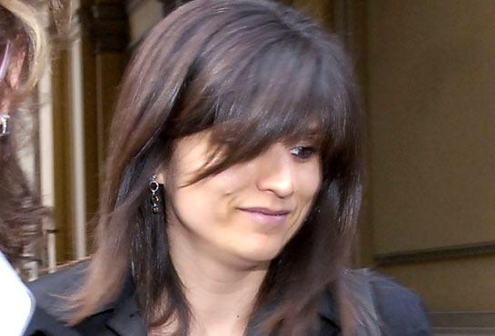 Cogne crime, Annamaria Franzoni on prize permit. Video