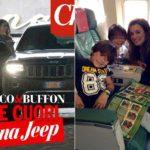 Alena Seredova and children join Buffon in Brazil. And the D'Amico?