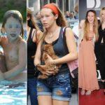 Aurora Ramazzotti's 18 years: the photo story of Eros and Michelle's daughter