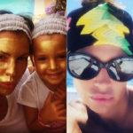 Claudia Galanti, golden mask with children and the web, is raging