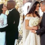"Clooney wedding controversy: ""Burine like those of the Kardashian. Amal? A duck"""