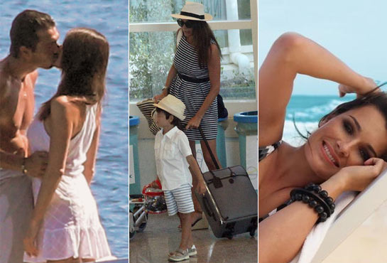 D'Amico alone mother. But Buffon would already like to marry her. And Alena consoles herself ...