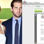Hunziker-Trussardi wedding: finally the publications!