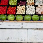 July: all seasonal fruit and vegetables