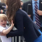 Kate Middleton, Prince George quirks at the Royal Air Force fair