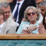 Kate Middleton and William in Wimbledon: long faces and few smiles