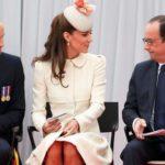 Kate Middleton imitates Letizia and Hollande is thunderstruck. Photo