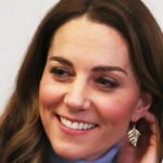 Kate, the gesture of George and Charlotte on Instagram. There is also little Louis