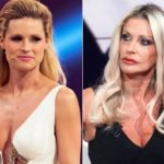 "Paola Ferrari attacks Michelle Hunziker: ""She has been offending for years"""