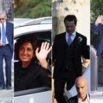 Renzi, Mieli, Farinetti at Carrai's wedding. And Agnese directs the choir