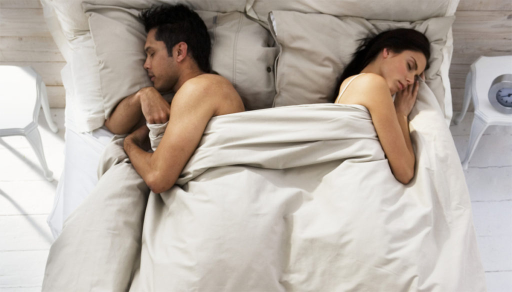 Sleeping In Separate Beds Is Good For The Couple