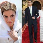 Veiled Letizia fascinates. And it allows a love escape