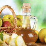 Apple cider vinegar instead of salt to strengthen the immune system