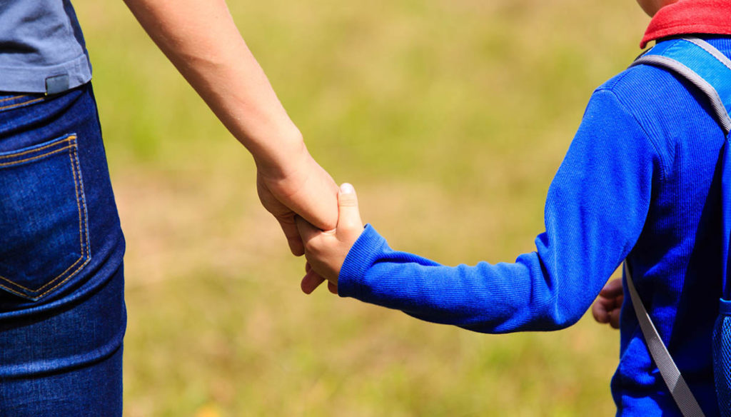 Blue ribbon: why it is so important for some children to wear it now