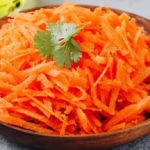 Diet with carrots, strengthens the immune system and helps the metabolism