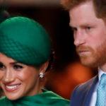 Meghan Markle reappears in public. But Harry is upset
