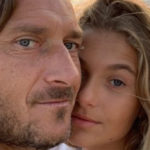 Chanel Totti turns 13. Best wishes from mom and dad