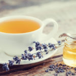 Lavender tea to relax and sleep better