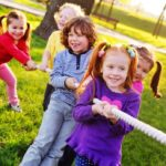 Ten outdoor games to do with the kids