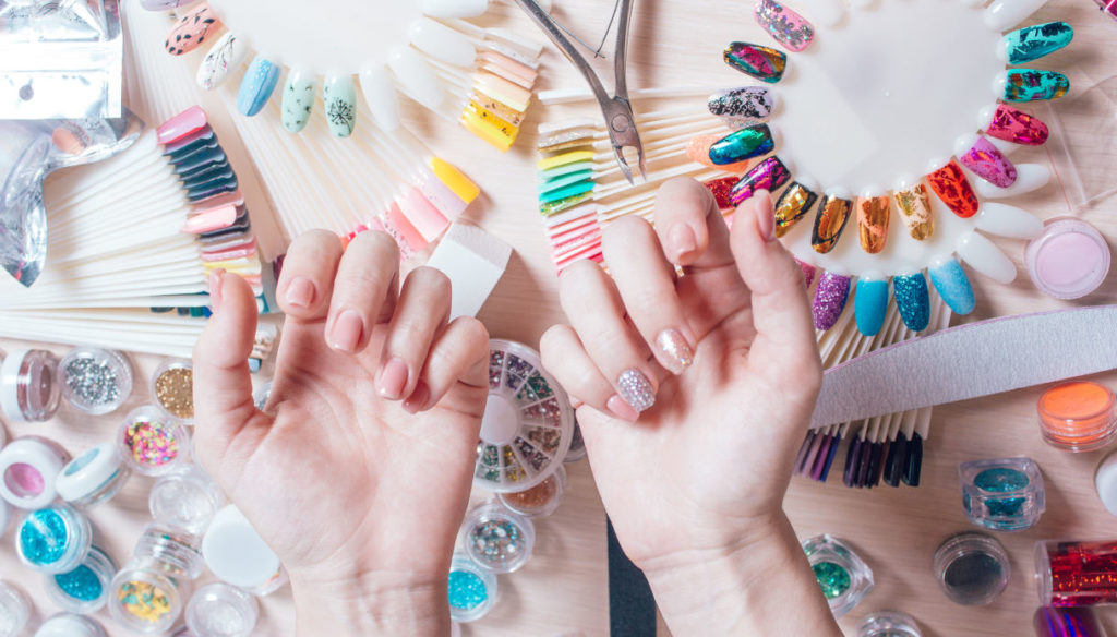Ideas for special and colored summer nails