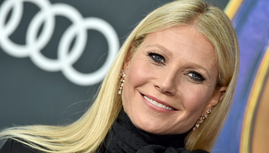 Gwyneth Paltrow tries again: the orgasm-scented candle arrives