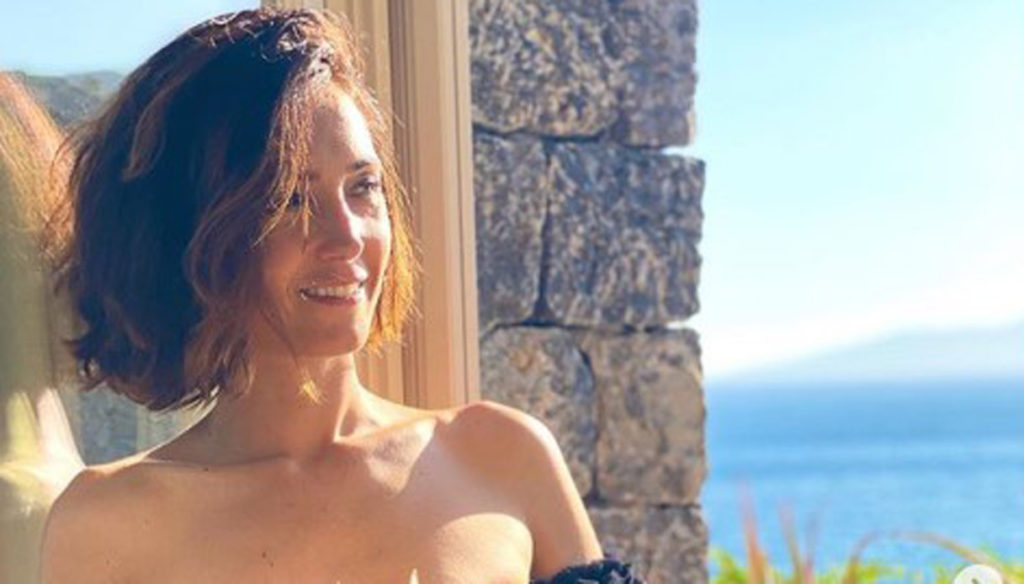 Caterina Balivo in bikini on Instagram: reveals her passion for proverbs
