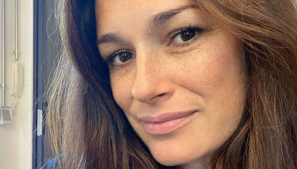 Alena Seredova mom without makeup is even more beautiful