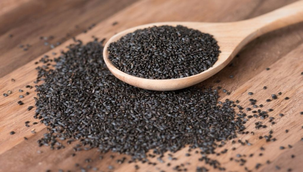 Basil seeds to fill up on fiber and omega 3