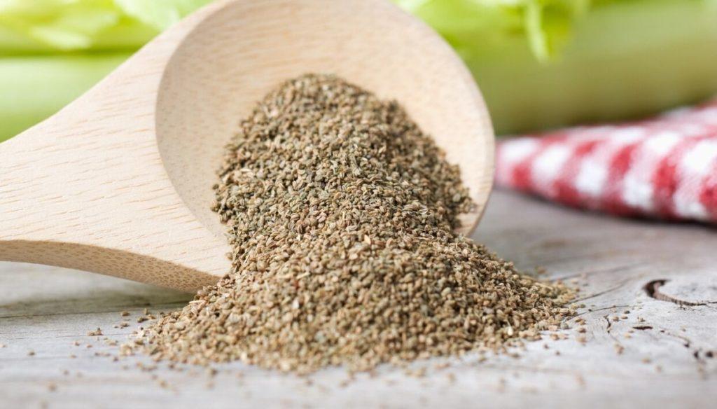Celery seeds help digestion and keep sugars at bay