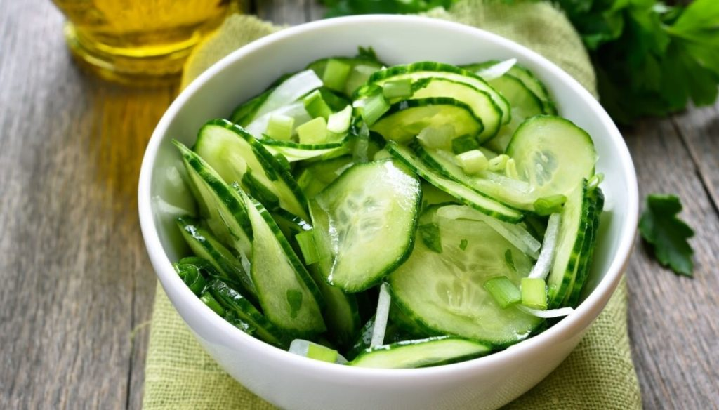 Detox diet with cucumbers: lose weight quickly