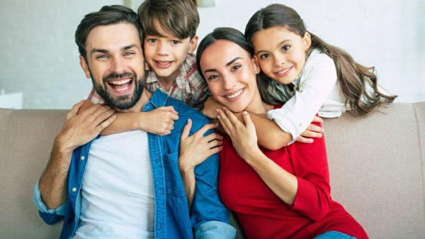 Happy parents? Yes, but be careful of the number of children