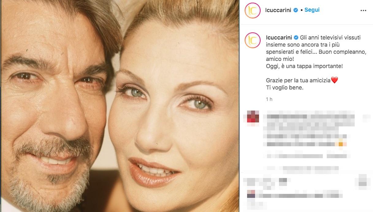 Lorella Cuccarini and Marco Columbro